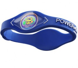 Power Balance Armband Blauw/wit