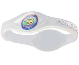 Power Balance Armband Wit
