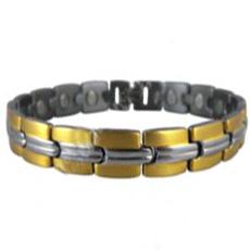Armband van titanium met magneten model OTB-007SG