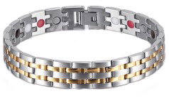 Magneet/germanium/far armband model OSB-1349SG