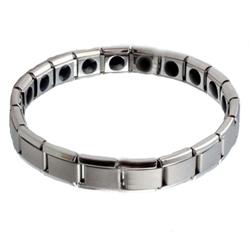 Flexibele dames armband van Titanium met germanium model WTB-002S