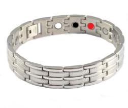 Armband met Magneten, germanium en far infra red model A-00573S
